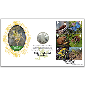 2018 Reintroduced Species Coin Cover