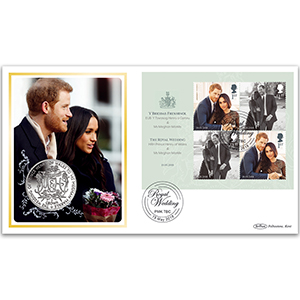 2018 Royal Wedding M/S Coin Cover