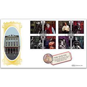2018 The Old Vic Bicentenary Coin Cover