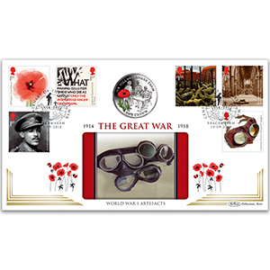 2018 WWI Stamps Coin Cover