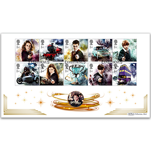 2018 Harry Potter Stamps Coin Cover