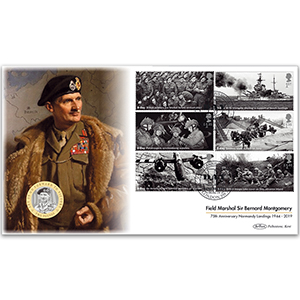 2019 D-Day Stamps Coin Cover
