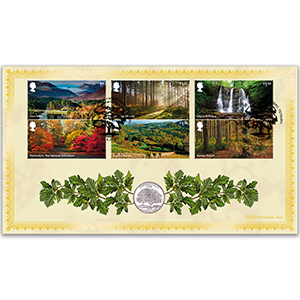 2019 Forests Stamps Coin