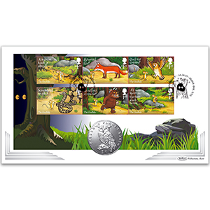2019 The Gruffalo Stamps Coin Cover