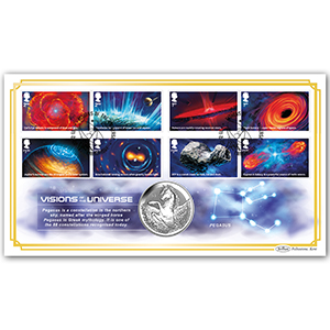 2020 Visions of the Universe Stamps Coin Cover