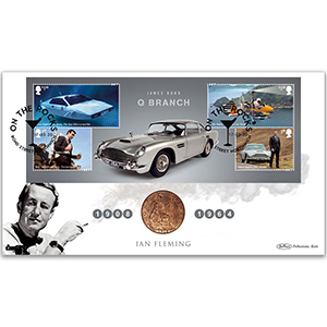 2020 James Bond M/S Coin Cover