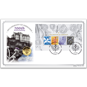 2020 Declaration of Arbroath M/S Coin Cover
