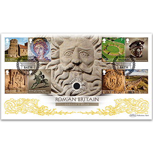 2020 Roman Britain Stamps Coin Cover