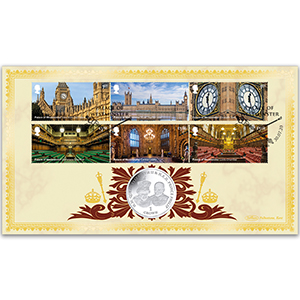 2020 Palace of Westminster Stamps Coin Cover