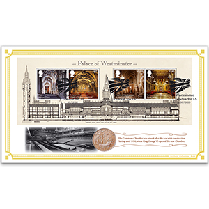 2020 Palace of Westminster M/S Coin Cover