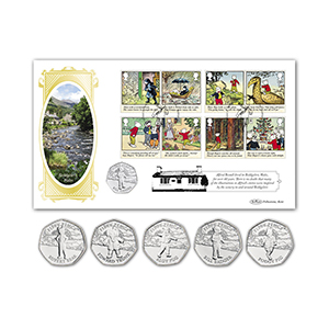 2020 Rupert Bear Stamps Coin Cover