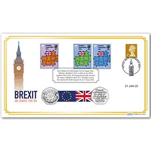2020 Brexit Special Coin Cover