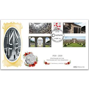 Centenary Unveiling Cenotaph Special Coin Cover