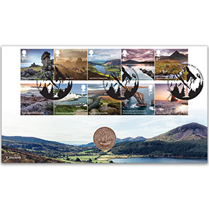 2021 National Parks Stamps Coin Cover