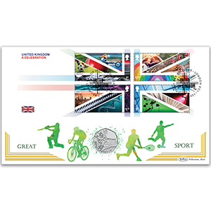 2021 United Kingdom - A Celebration M/S Coin Cover