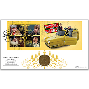 2021 Only Fools & Horses M/S Coin Cover