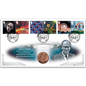 2021 Classic Science Fiction Stamps Coin Cover
