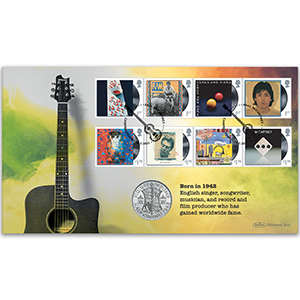 2021 Paul McCartney Stamps Coin Cover