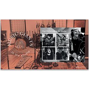 2021 Paul McCartney M/S Coin Cover