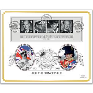 2021 HRH The Prince Philip, Duke of Edinburgh Coin Cover