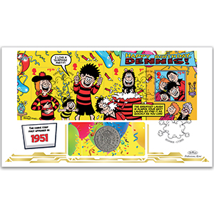 2021 Dennis and Gnasher M/S Coin Cover