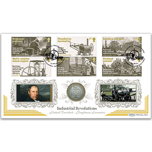 2021 Industrial Revolutions Stamps Coin Cover