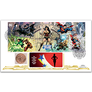 2021 DC Collection M/S Coin Cover