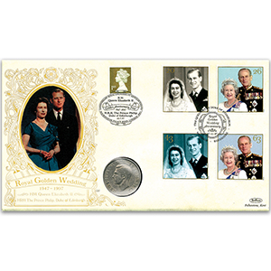 1997 Golden Wedding Coin Cover