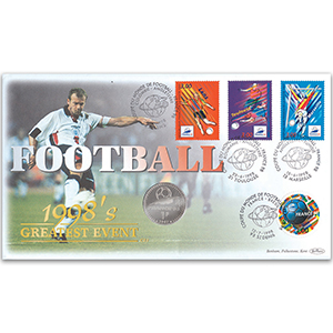 1998 Football World Cup Coin Cover