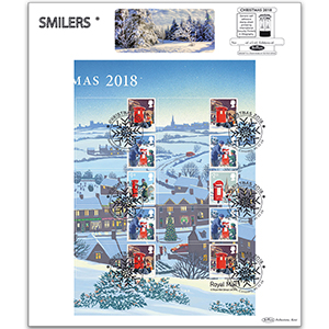 2018 Christmas Generic Sheet Large Card - Right Hand