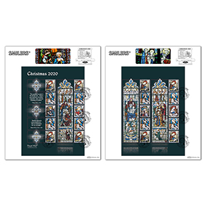 2020 Christmas Generic Sheet Large Cards Pair