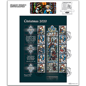 2020 Christmas Generic Sheet Large Card - Left Hand