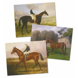 Earl of Derby Racehorse Paintings (GDS13) Set of 20 cards