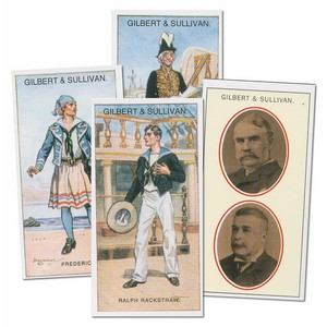 Gilbert & Sullivan (I290) Set of 26 cards