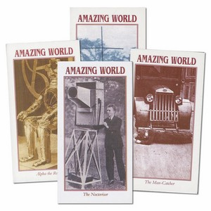 Amazing World 1920/30s Inventions (LP04) Set of 10 cards