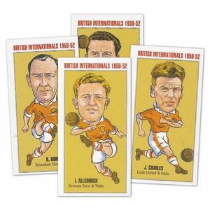 British Soccer Internationals 1950-52 (PN1) Set of 20 cards