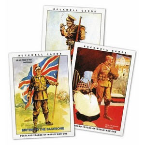 Postcard Images of WW1 (Extra Large size) (RC107) Set of 10