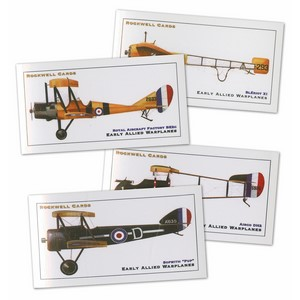 Early Allied Warplanes (A) (RC125) Set of 10 cards