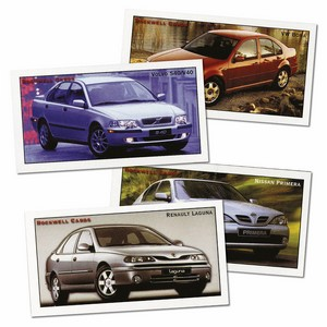Modern Family Cars - small (RC138) Set of 15 cards