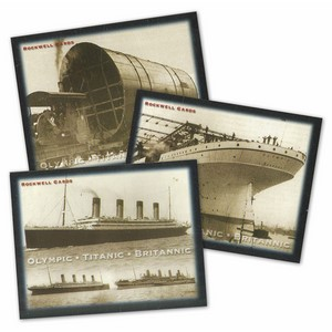 Olympic/Titanic/Britannic (RC141) Set of 25 cards