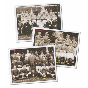 Classic Reds - Manchester United (RC174) Set of 7 cards