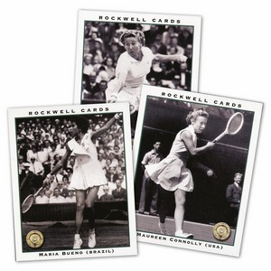 Wimbledon Ladies Post War - Large (RC176) Set of 10 cards