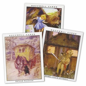 Child's Book Illustrators - Large (RC224) Set of 10 cards