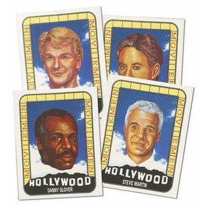 Hollywood Moviemen (V360) Set of 25 cards
