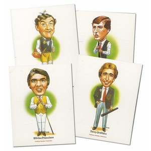 Snooker Celebrities (V870) Set of 20 cards