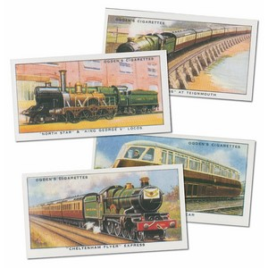 Modern Railways Reproduction Set of 50 cards