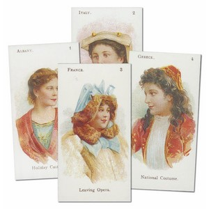 National Costumes Reproduction Set of 25 cards