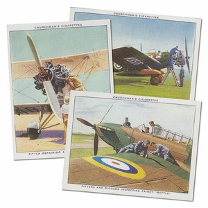 The RAF at Work Reproduction Set of 48 cards