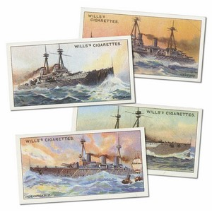 World's Dreadnoughts Reproduction Set of 25 cards