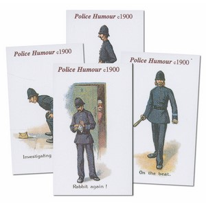 Police Humour Reproduction Set of 12 cards